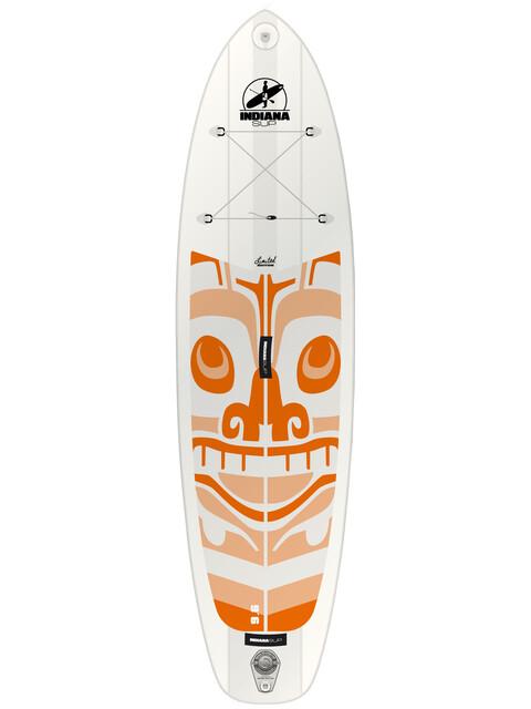 Indiana SUP 9'6 Allround LTD - Planche - Ladies orange/blanc